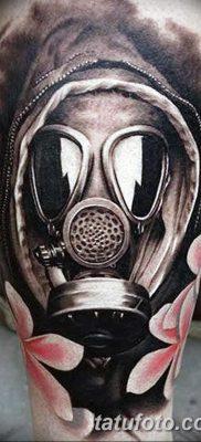 фото тату противогаз от 11.08.2017 №179 – Tattoo gas mask_tatufoto.com