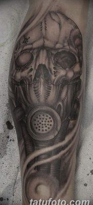 фото тату противогаз от 11.08.2017 №184 – Tattoo gas mask_tatufoto.com