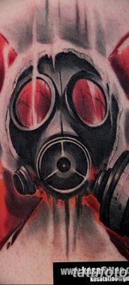 фото тату противогаз от 11.08.2017 №185 – Tattoo gas mask_tatufoto.com