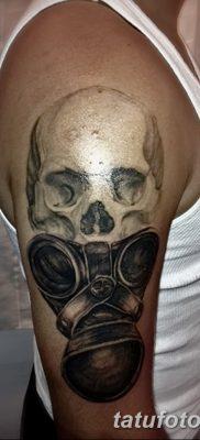 фото тату противогаз от 11.08.2017 №188 – Tattoo gas mask_tatufoto.com