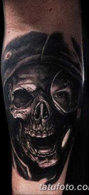 фото тату противогаз от 11.08.2017 №189 – Tattoo gas mask_tatufoto.com