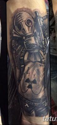 фото тату противогаз от 11.08.2017 №193 – Tattoo gas mask_tatufoto.com
