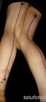 фото тату прямая линия (полоса) от 11.08.2017 №015 – Straight line tattoo