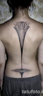 фото тату прямая линия (полоса) от 11.08.2017 №141 – Straight line tattoo