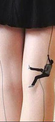фото тату прямая линия (полоса) от 11.08.2017 №159 – Straight line tattoo