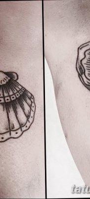 фото тату раковина от 19.08.2017 №003 – Tattoo shell_tatufoto.com