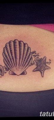 фото тату раковина от 19.08.2017 №012 – Tattoo shell_tatufoto.com