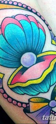 фото тату раковина от 19.08.2017 №051 – Tattoo shell_tatufoto.com