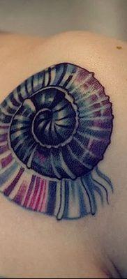 фото тату раковина от 19.08.2017 №052 – Tattoo shell_tatufoto.com