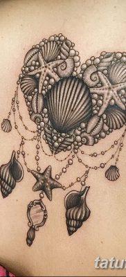 фото тату раковина от 19.08.2017 №143 – Tattoo shell_tatufoto.com