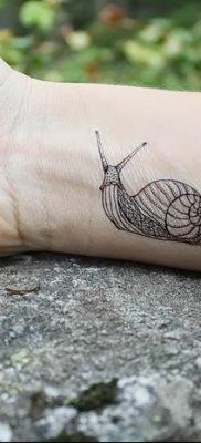 фото тату раковина от 19.08.2017 №144 – Tattoo shell_tatufoto.com