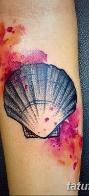 фото тату раковина от 19.08.2017 №153 – Tattoo shell_tatufoto.com