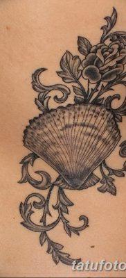 фото тату раковина от 19.08.2017 №158 – Tattoo shell_tatufoto.com