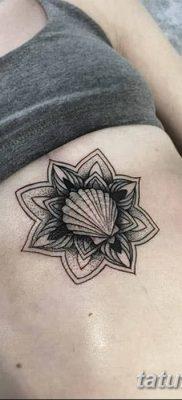 фото тату раковина от 19.08.2017 №161 – Tattoo shell_tatufoto.com