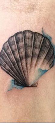 фото тату раковина от 19.08.2017 №164 – Tattoo shell_tatufoto.com