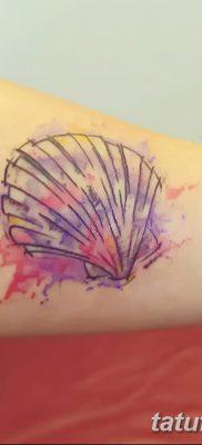 фото тату раковина от 19.08.2017 №172 – Tattoo shell_tatufoto.com