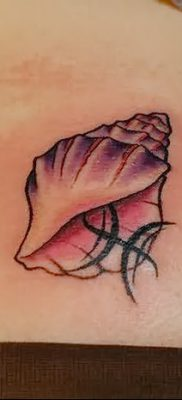 фото тату раковина от 19.08.2017 №179 – Tattoo shell_tatufoto.com
