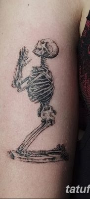 фото тату скелет от 28.08.2017 №003 – tattoo skeleton – tatufoto.com