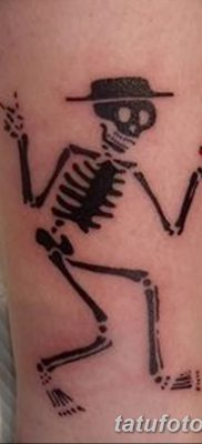фото тату скелет от 28.08.2017 №004 – tattoo skeleton – tatufoto.com