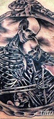 фото тату скелет от 28.08.2017 №007 – tattoo skeleton – tatufoto.com