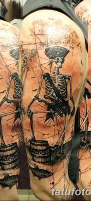 фото тату скелет от 28.08.2017 №012 – tattoo skeleton – tatufoto.com