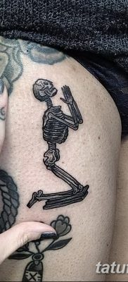 фото тату скелет от 28.08.2017 №016 – tattoo skeleton – tatufoto.com