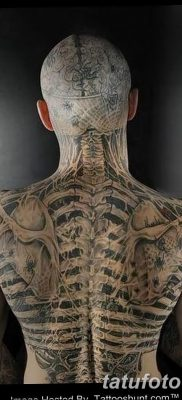 фото тату скелет от 28.08.2017 №029 – tattoo skeleton – tatufoto.com