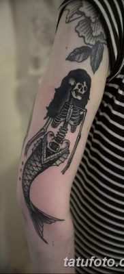 фото тату скелет от 28.08.2017 №049 – tattoo skeleton – tatufoto.com
