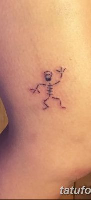 фото тату скелет от 28.08.2017 №050 – tattoo skeleton – tatufoto.com