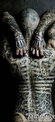 фото тату скелет от 28.08.2017 №052 – tattoo skeleton – tatufoto.com