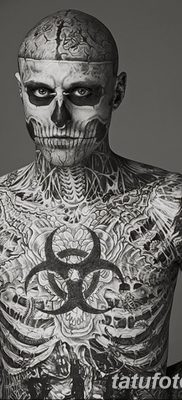 фото тату скелет от 28.08.2017 №056 – tattoo skeleton – tatufoto.com