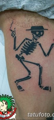 фото тату скелет от 28.08.2017 №062 – tattoo skeleton – tatufoto.com