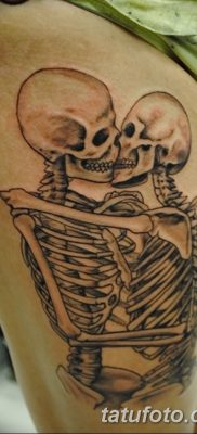 фото тату скелет от 28.08.2017 №097 – tattoo skeleton – tatufoto.com