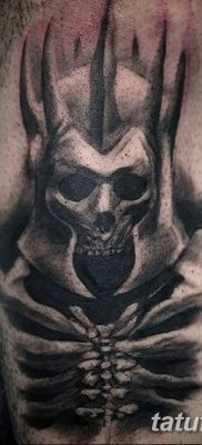 фото тату скелет от 28.08.2017 №109 – tattoo skeleton – tatufoto.com