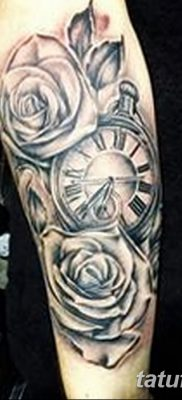 фото тату три розы от 21.08.2017 №005 – Three rose tattoos – tatufoto.com