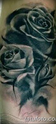 фото тату три розы от 21.08.2017 №006 – Three rose tattoos – tatufoto.com