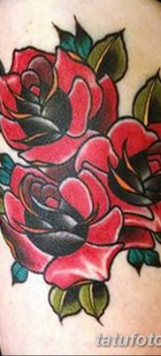 фото тату три розы от 21.08.2017 №019 – Three rose tattoos – tatufoto.com