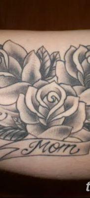 фото тату три розы от 21.08.2017 №027 – Three rose tattoos – tatufoto.com 1232311