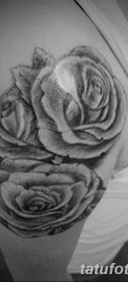 фото тату три розы от 21.08.2017 №033 – Three rose tattoos – tatufoto.com