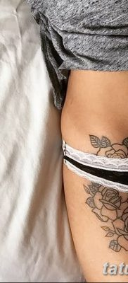 фото тату три розы от 21.08.2017 №035 – Three rose tattoos – tatufoto.com