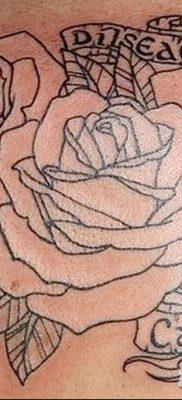 фото тату три розы от 21.08.2017 №055 – Three rose tattoos – tatufoto.com