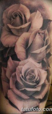 фото тату три розы от 21.08.2017 №056 – Three rose tattoos – tatufoto.com