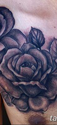 фото тату три розы от 21.08.2017 №073 – Three rose tattoos – tatufoto.com