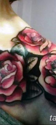 фото тату три розы от 21.08.2017 №103 – Three rose tattoos – tatufoto.com