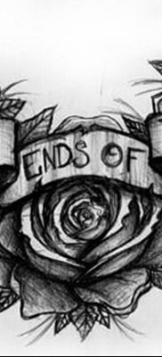 фото тату три розы от 21.08.2017 №109 – Three rose tattoos – tatufoto.com