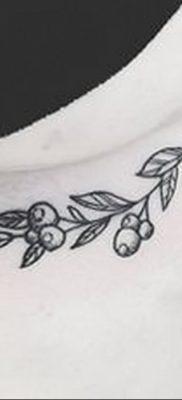 фото тату черника от 21.08.2017 №019 – Blueberry tattoo – tatufoto.com