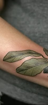 фото тату черника от 21.08.2017 №042 – Blueberry tattoo – tatufoto.com