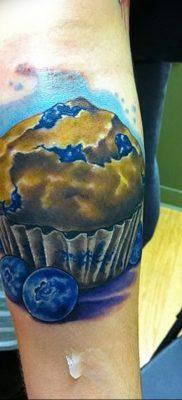 фото тату черника от 21.08.2017 №052 – Blueberry tattoo – tatufoto.com