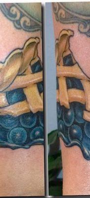 фото тату черника от 21.08.2017 №112 – Blueberry tattoo – tatufoto.com