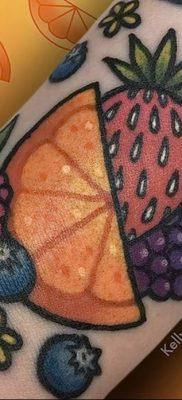 фото тату черника от 21.08.2017 №125 – Blueberry tattoo – tatufoto.com